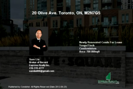 Newly Renovated Condo for Sale [20 Olive Ave]